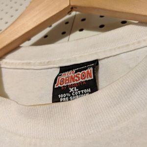 Shirts - VINTAGE BIG JOHNSON FOOTBALL TEE